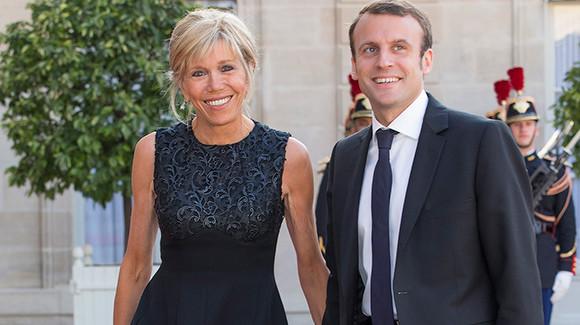 Así es la mujer de Macron, 23 años mayor que él