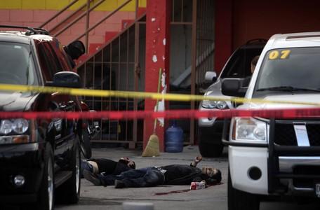 Dos de los chicos estadounidenses abatidos a tiros en un concesionario de Ciudad Juarez.
