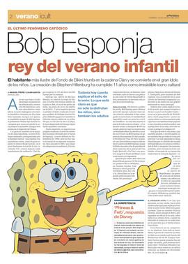 Bob esponja rey del verano infantil cultura y for Una noticia de espectaculos