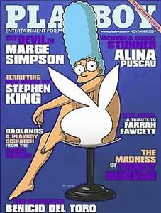 Marge Simpson Se Desnuda Para Playboy Media