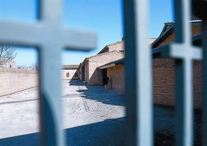 Entrada del monasterio de Santa Lucia.