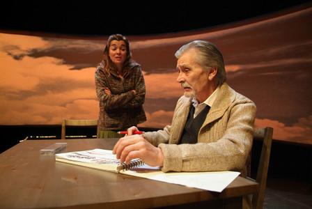 El actor Pep Torrents en una de sus apariciones en la obra de teatro Mika i el paradís