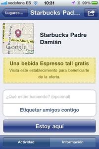 Servicio de Facebook a móviles.