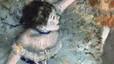 Detalle de la pintura Bailarina, de Degas, vista a través de la herramienta Art Project.