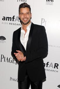 Ricky Martin, a su llegada a una gala solidaria, el pasado 3 de junio en Nueva York.
