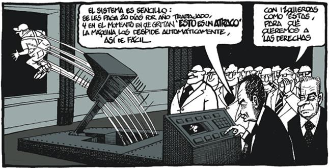 Viñeta de Ferreres en El Periódico (2.08.2010)