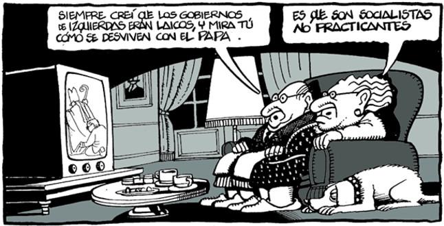Viñeta de Ferreres en El Periódico (5.11.2010)